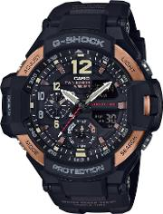 Mens G Shock Air Black Digital Watch Ga 1100rg 1aer