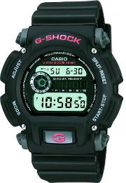 Mens G Shock Black Digital Watch Dw 9052 1ver