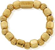 Gold Plated Chunky Feature Ring Medium Size Grchupu2