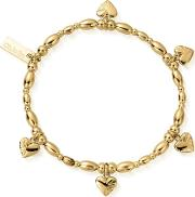Gold Plated Life Lover Bracelet Gblrsr2555