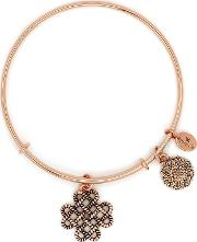 Bodhi Rose Gold Plated Endless Knot Bangle Crbt2210rg