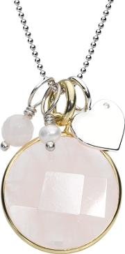 Silver Gold Plated Pinky Pendant Crnm39silv12 40