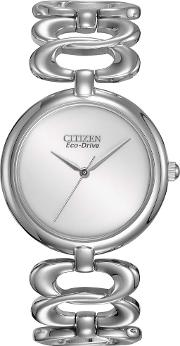 Ladies Eco Drive Silhouette Watch Em0220 53a