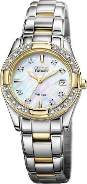 Ladies Regent Diamond Watch Ew1824 57d