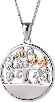 Tree Of Life Pendant Necklace 3stlecp