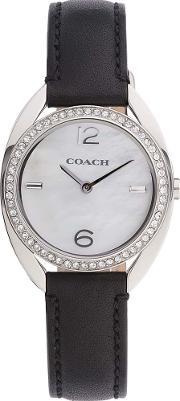 Ladies Black Band Page Watch 14502029