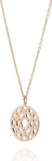 Rose Gold Plated Heart Chakra Necklace Nchk5004