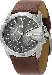 Mens Goose Strap Watch Dz1206