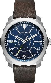 Mens Machinus Strap Watch Dz1787