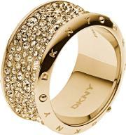 Ladies Gold Plated Ring Nj2019040 P