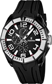 Mens Rubber Strap Watch F16670 8