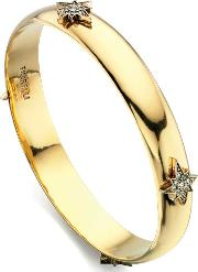 Ladies Star Bangle B4605