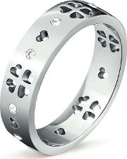 Ladies Love And Fortune Silver Ring 5045.5343
