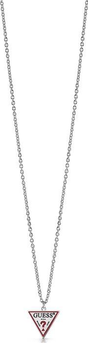 La Ers Stainless Steel Triangle Logo Necklace Ubn29060