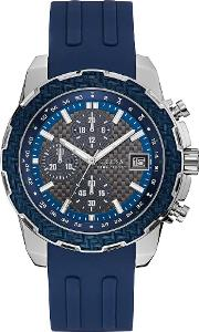 Mens Octane Blue Chronograph Strap Watch W1047g2