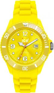 Ice Watch Neon Yellow Rubber Strap Yellow Dial Watch Ss.nyw.b.s.12
