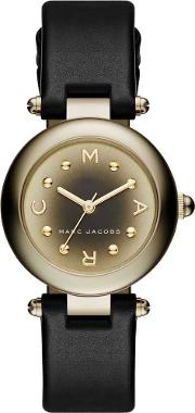 Ladies Dotty Gold Plated Strap Watch Mj1467