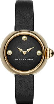 Ladies Gold Plated Strap Watch Mj1432