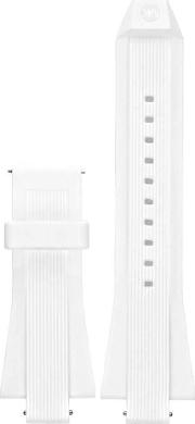 Mens Access Dylan White Rubber Watch Strap Mkt9011