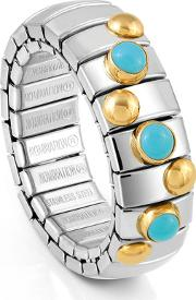 Extension 3 Turquoise 18ct Gold Ring 044600003