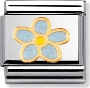 Nature Forget Me Not Charm 030214 0 44
