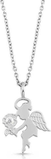Paradiso Angel Cubic Zirconia Necklace 025534002