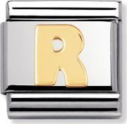 Stainless Steel Letters R Charm 03010118