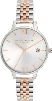 Demi Date Two Colour Bracelet Watch Ob16de06