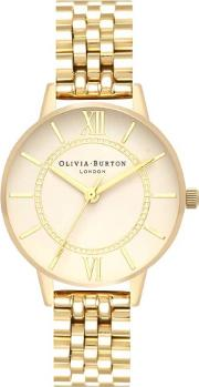 Wonderland Nude Dial Yellow Gold Bracelet Watch Ob16wd69