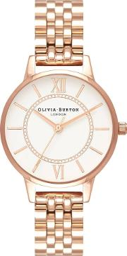Wonderland Rose Gold Bracelet Watch Ob16wd70