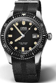 Mens Divers Sixty Five Black Watch 01 733 7720 4054 07 5 21 26fc