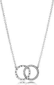 Circles Logo Necklace 396235cz 45