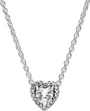 Elevated Heart Necklace 398425c01