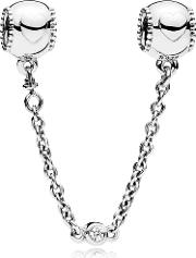 Embossed Hearts Safety Chain 796457cz 05