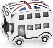 Silver Best Of British London Bus Bead 791049er