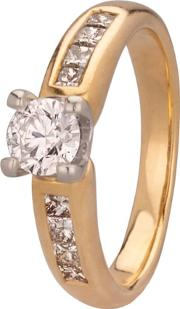 Pre Owned 0.65ct Diamond Solitaire Ring 4112577