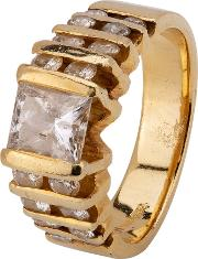 Pre Owned 14ct Yellow Gold 1.60ct Diamond Ring 4312121