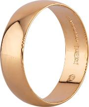 Pre Owned 18ct Yellow Gold 5mm Plain Wedding Ring R517205 449