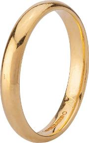 Pre Owned 18ct Yellow Gold Plain Wedding Ring 4187727