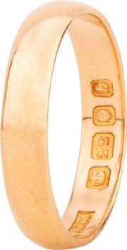 Pre Owned 22ct Yellow Gold 3.6mm Wide Plain Wedding Ring 4187760