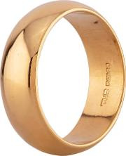 Pre Owned 22ct Yellow Gold Plain Wedding Ring D516492 450