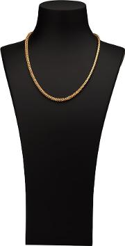 Pre Owned 9ct Gold 20 Hollow Double Box Curb Chain 4103453