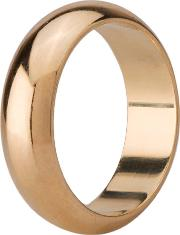 Pre Owned 9ct Yellow Gold 6mm D Shape Plain Wedding Ring 4187709