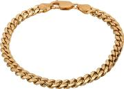 Pre Owned 9ct Yellow Gold 7 Inch Curb Bracelet Hgm250107 0319