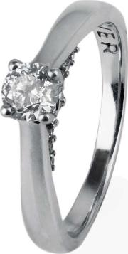 Pre Owned Diamond Solitaire Ring 4112097