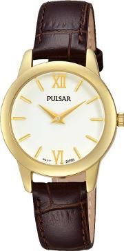 Ladies Gold Plated Watch Prw020x1