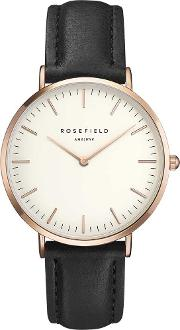 Ladies Rose Gold Plated Bowery Watch Bwblr B1