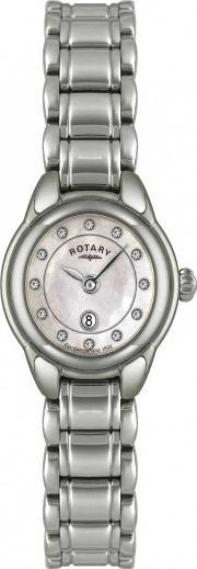 Ladies Stainless Steel Mother Of Pearl Watch Lb02601-07