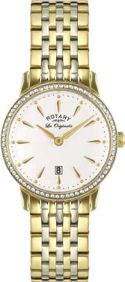 Ladies Two Tone Gold Watch Lb9005601