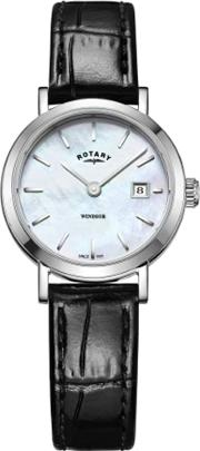Ladies Windsor Mother Of Pearl Leather Watch Ls0530041